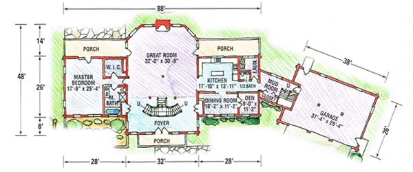 Floor Plans | Applewood Log Homes